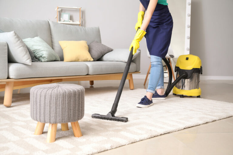 vacuuming - domestic cleaning by Crest Cleaners, Farnborough